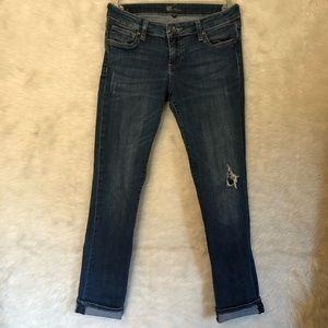 Kut from the Kloth |  Boyfriend Jeans | Distressed
